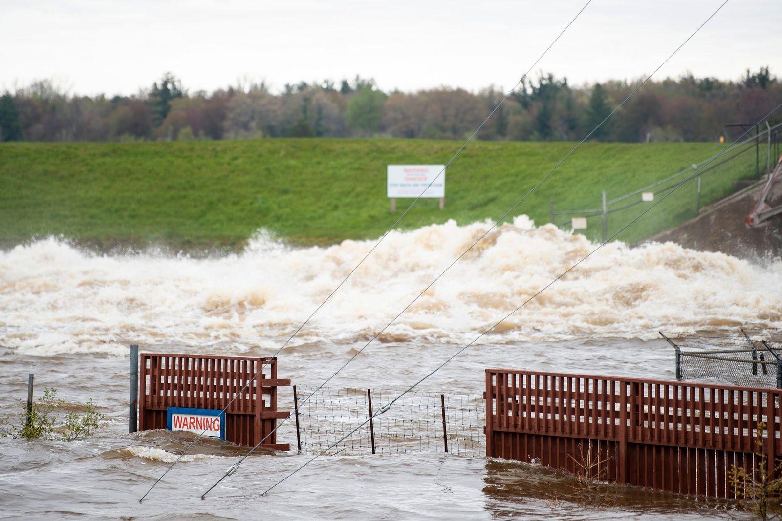 Überschwemmungen in den USA