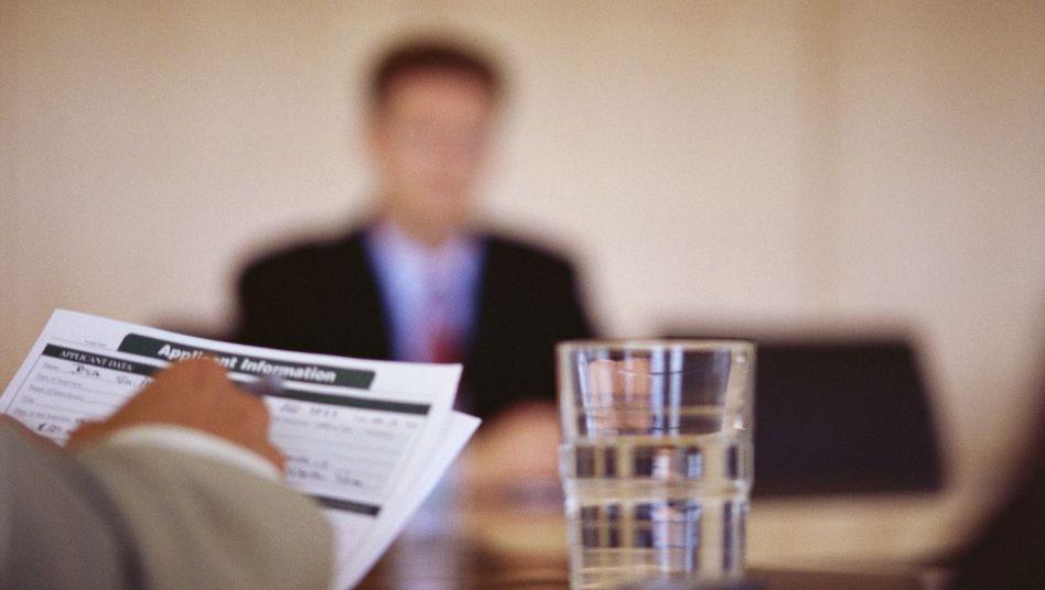 Bewerbungsgespräch: Die Angst sitzt mit am Tisch - auf beiden Seiten