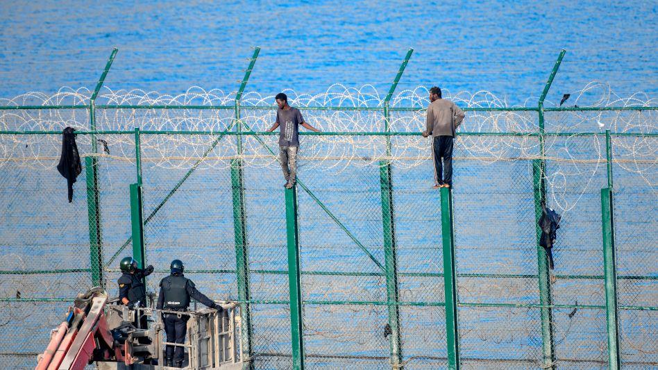 """Grenzzaun zur spanischen Exklave Ceuta: """"Für umsonst spielen die Nordafrikaner nicht mit"""""""