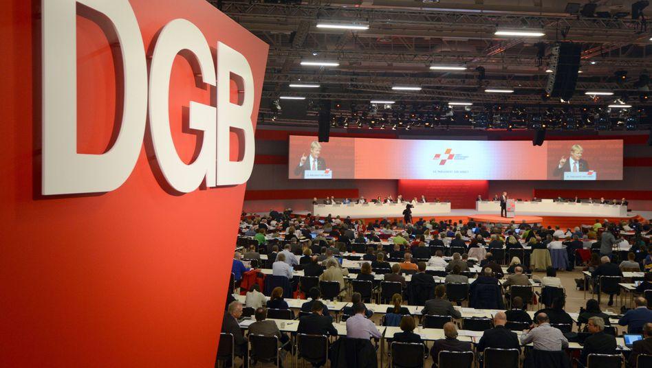 DGB-Bundeskongress in Berlin: Peinlich für die Bundesregierung