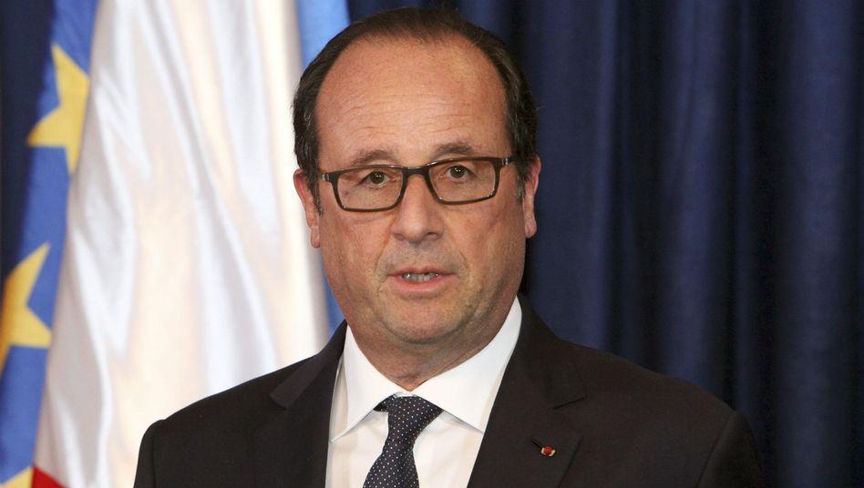 """Frankreichs Präsident Hollande: """"Globale Bedrohung, globale Reaktion"""""""