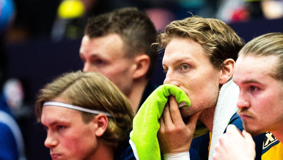 Schweden steht vor dem EM-Aus: Enttäuschung bei den Spielern