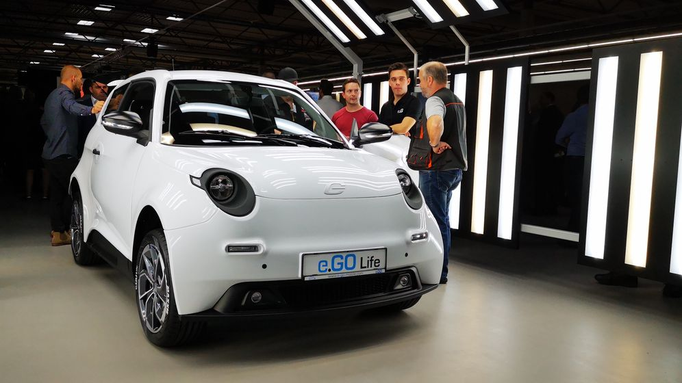 Elektroauto e-Go: Der Elektro-Zwerg