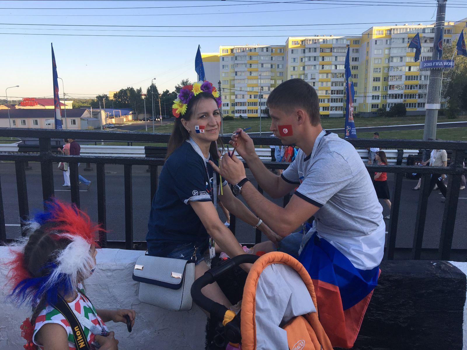 Impressionen Russland / WM / Hebel