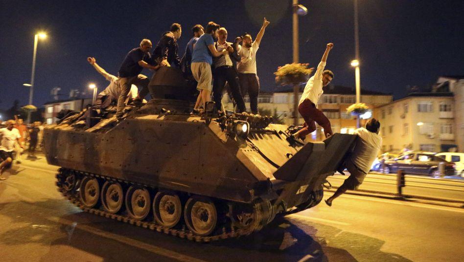 Putschversuch in der Türkei im Juli 2016