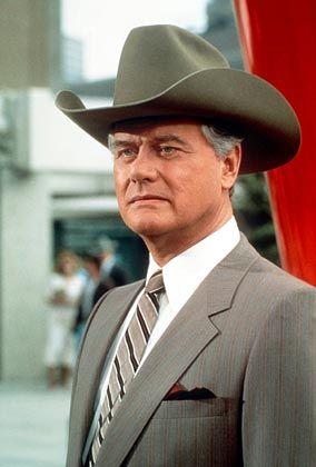 "Fernseh-Fiesling J.R. Ewing (Larry Hagman): Die ""Dallas""-Hysterie gemolken"