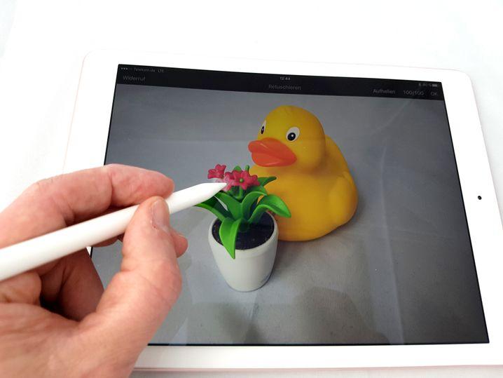 Apple Pencil, iPad Pro (erste Generation)