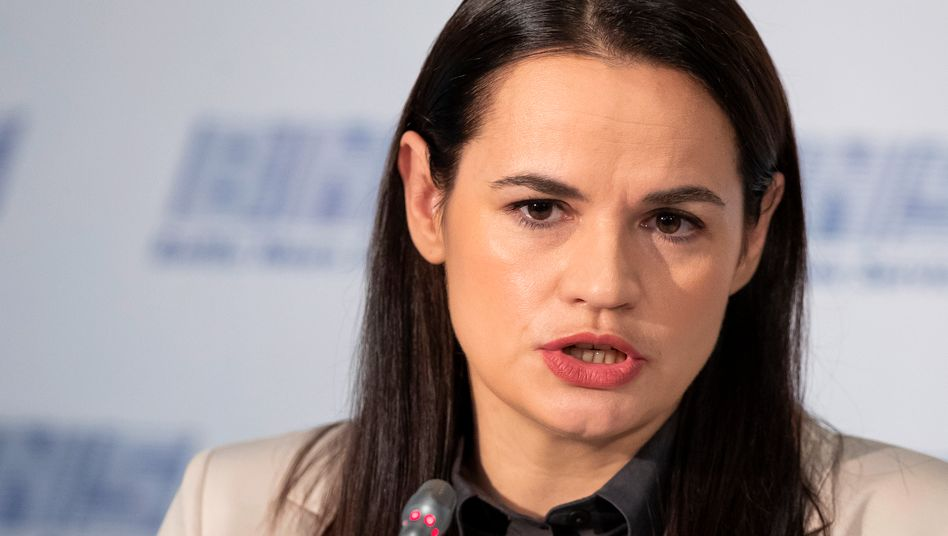 """Tichanowskaja: """"Das ist weder eine antieuropäische noch eine proeuropäische Revolution."""""""