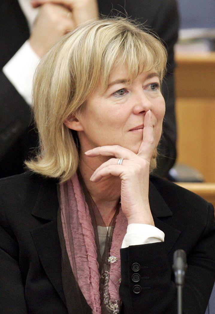 SPD-Politikerin Ahnen: Nicht im Wahlkampfteam des Kanzlerkandidaten