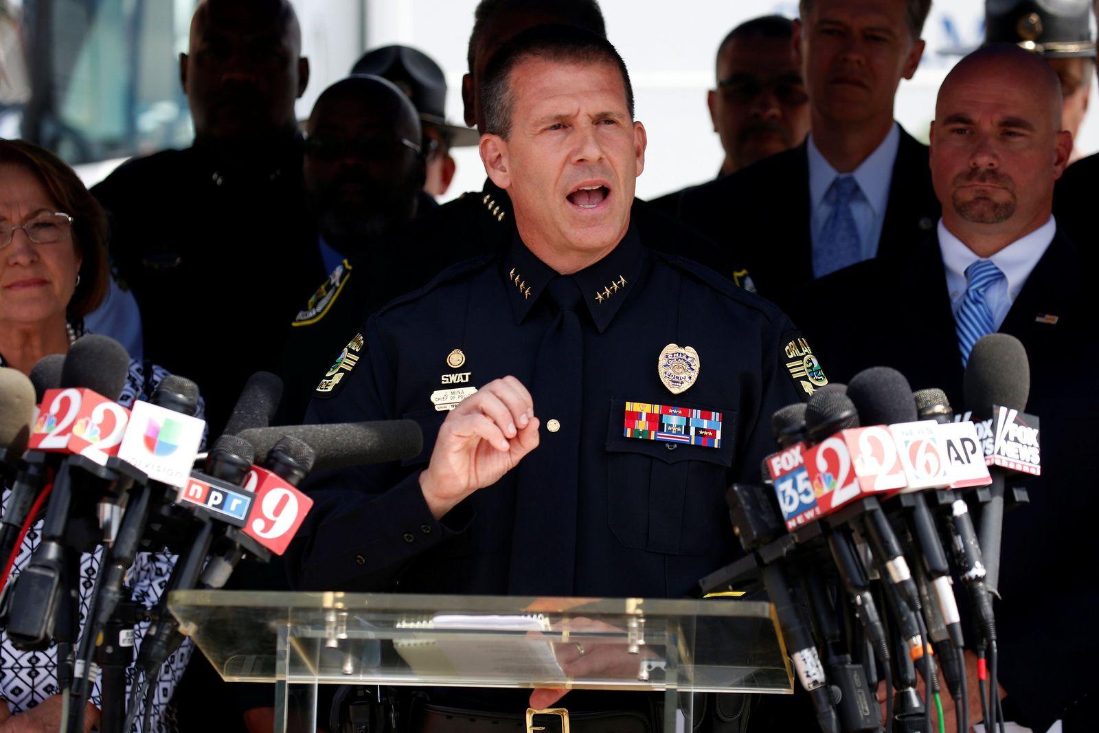 Orlando Polizeichef John Mina
