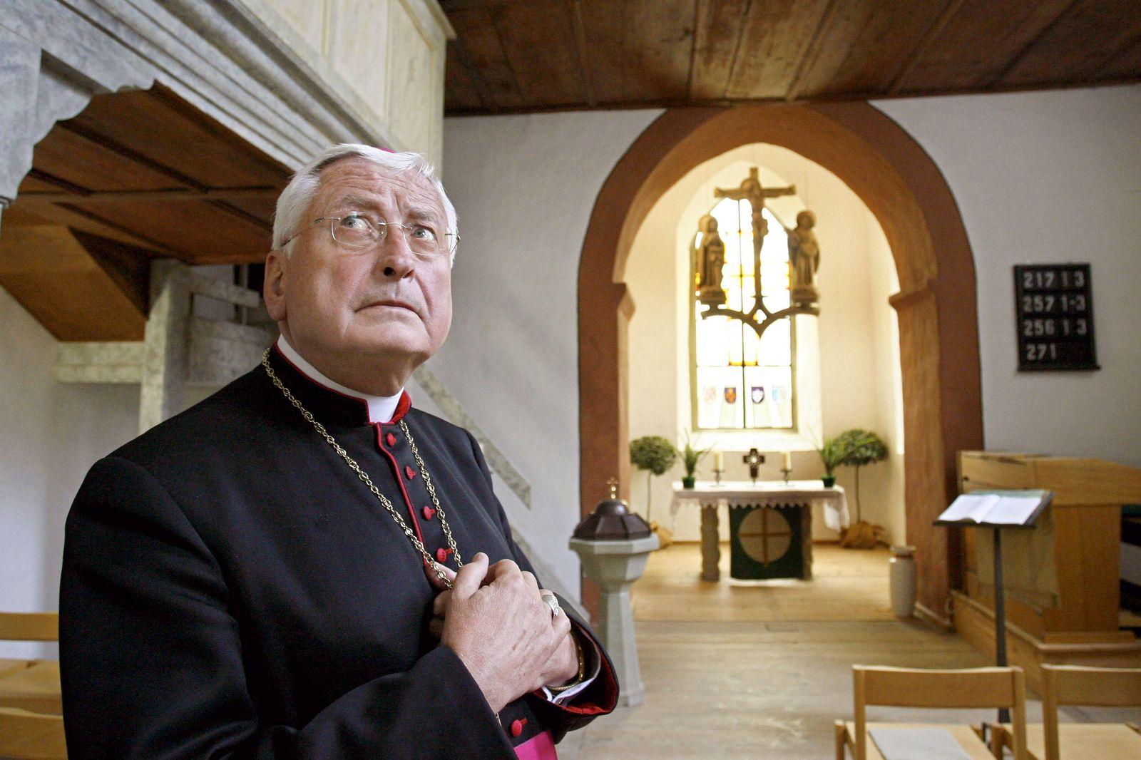 Ex-Bischof Walter Mixa