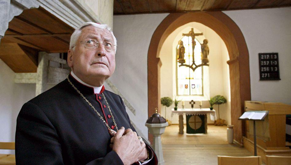 Altbischof Mixa (Archivbild): Diebe räumten die Kommode im Schlafzimmer aus