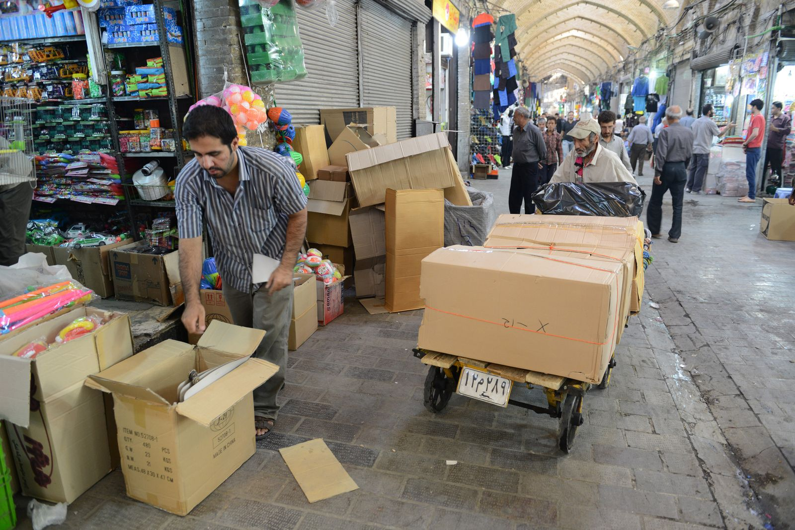 Tehran's Grand Market Bazaar