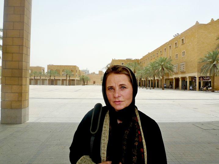 Susanne Koelbl in Riad
