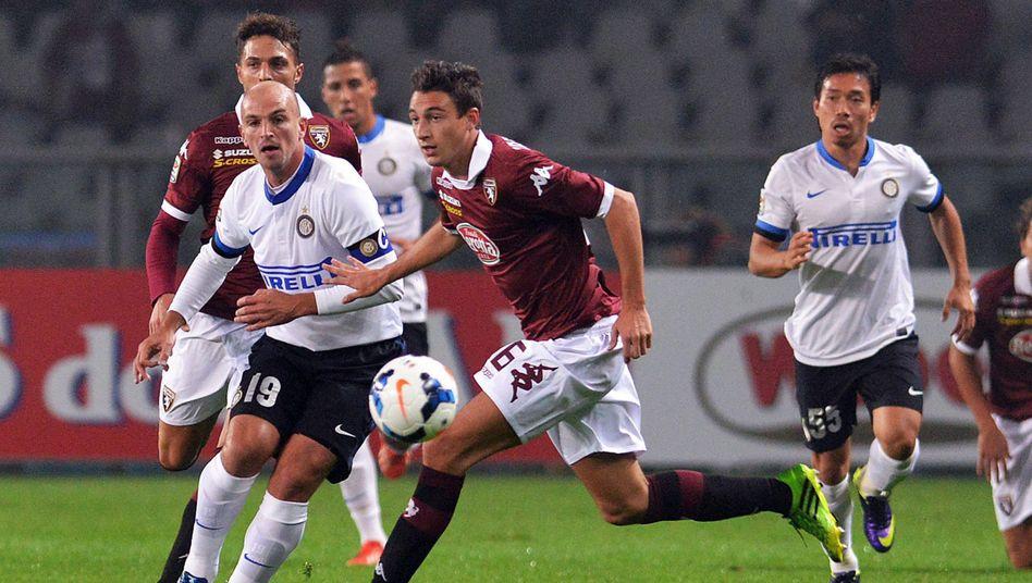 Spiel Inter gegen Turin: Schmähungen gegen andere Landesteile