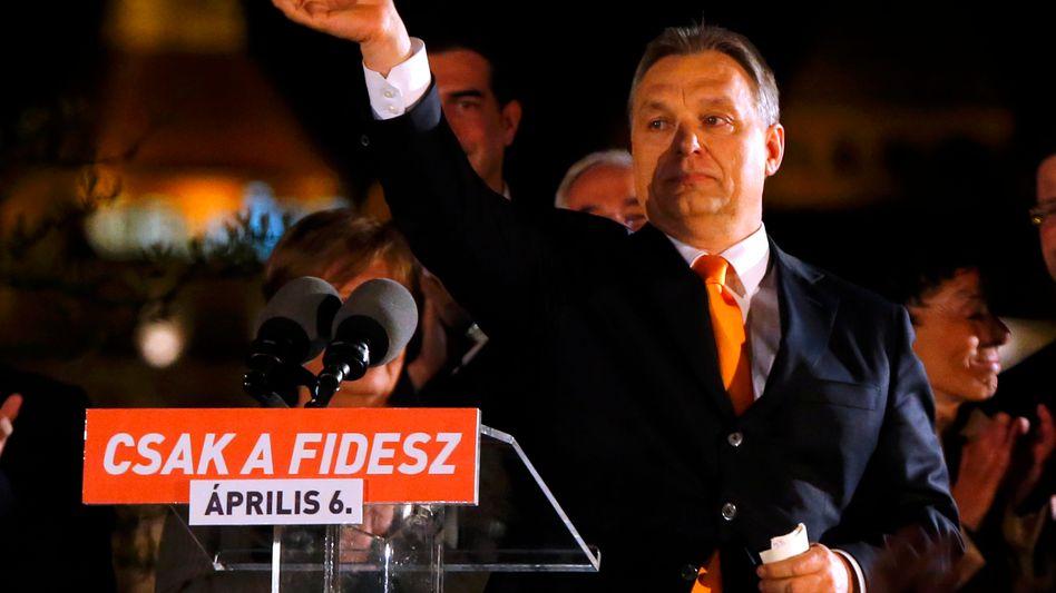 Premierminister Orbán: Uneinholbarerer Stimmenanteil