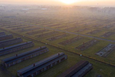 Gelände des früheren KZ Auschwitz-Birkenau