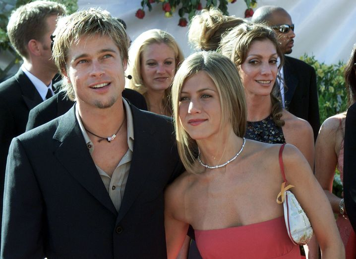 Pitt und Ex-Frau Jennifer Aniston