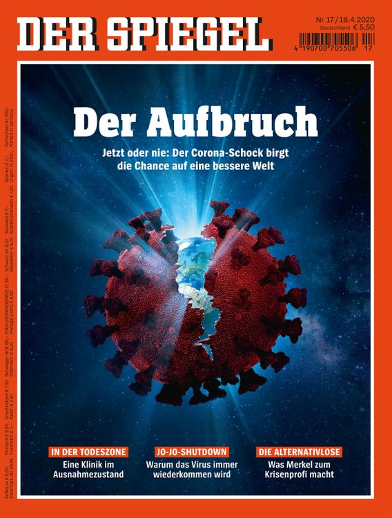 """Corona: """"You Need the Sledgehammer"""" To Bring Down Infections - DER SPIEGEL"""