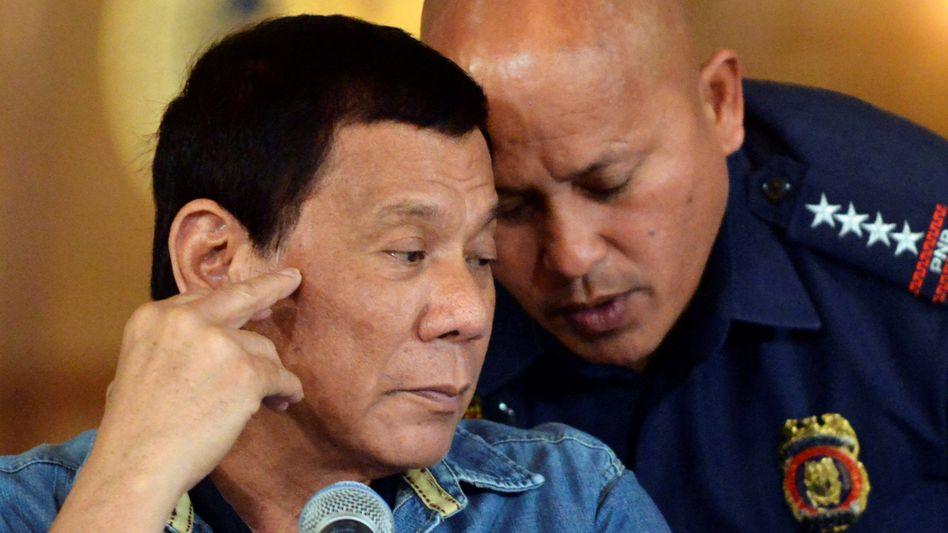 Duterte, Dela Rosa