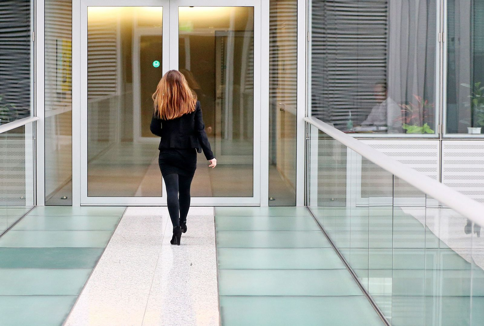 Frau / Arbeitsplatz