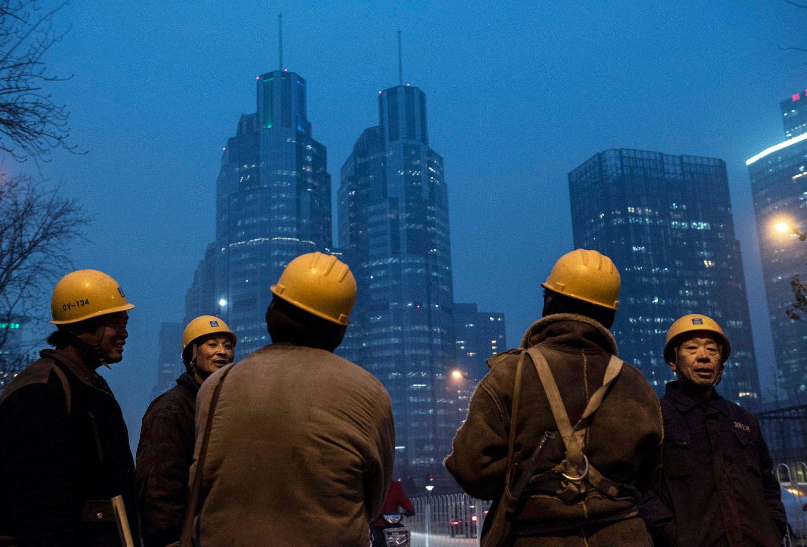China Konjunktur / Wirtschaft / Industrie / Arbeiter