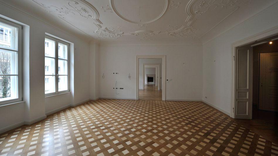 Luxus Wohnraum, hier: ein Altbau in München