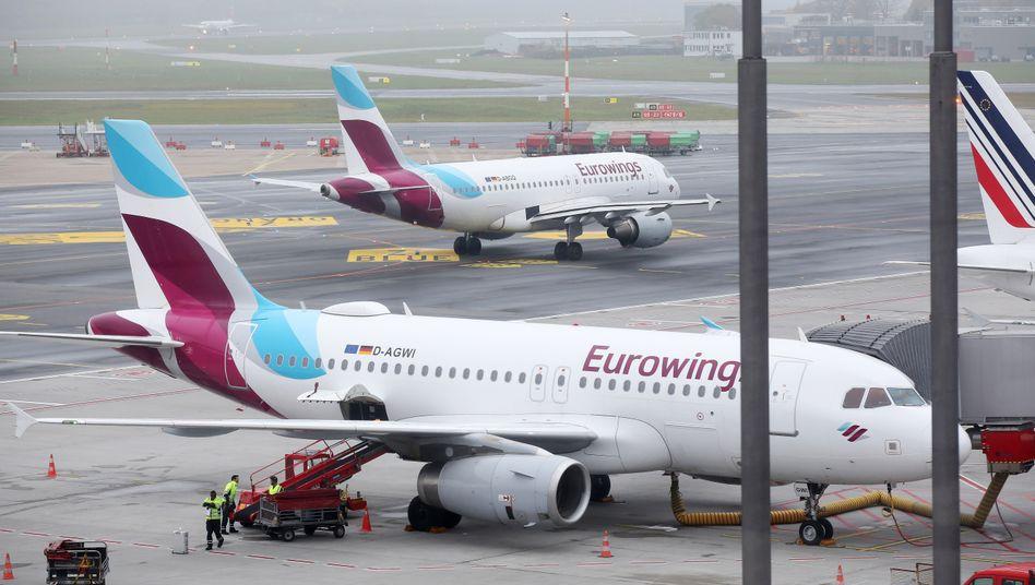 Handgepäck und Check-in: Eurowings streicht Gratis-Leistungen