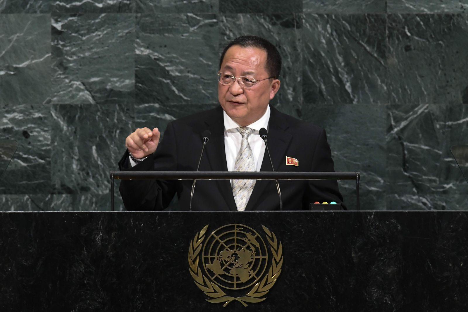 Nordkorea/ Ri Yong-ho
