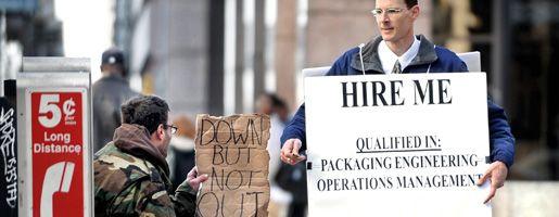 Arbeitslose in den USA: Rauchmelder für das brennende Haus