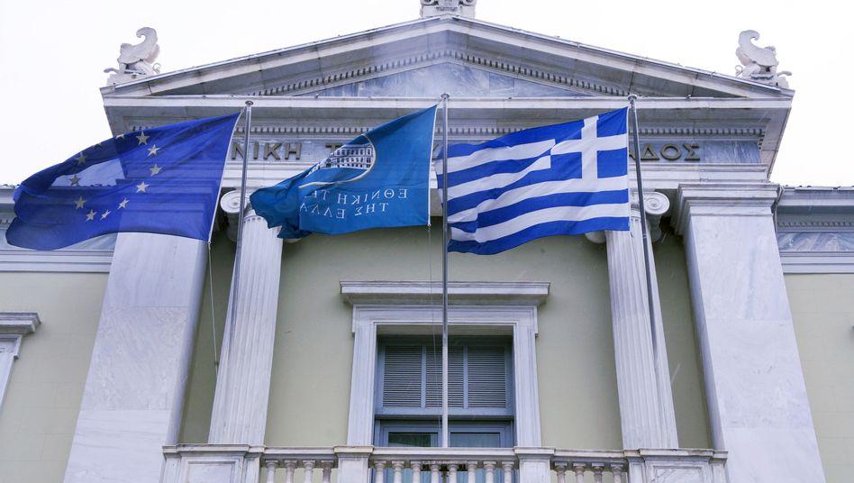 """Griechische Nationalbank: """"Das griechische Erpressungspotenzial sinkt"""""""