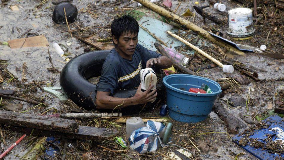 """Taifun auf den Philippinen: """"Wir haben viele Leichen gesehen"""""""