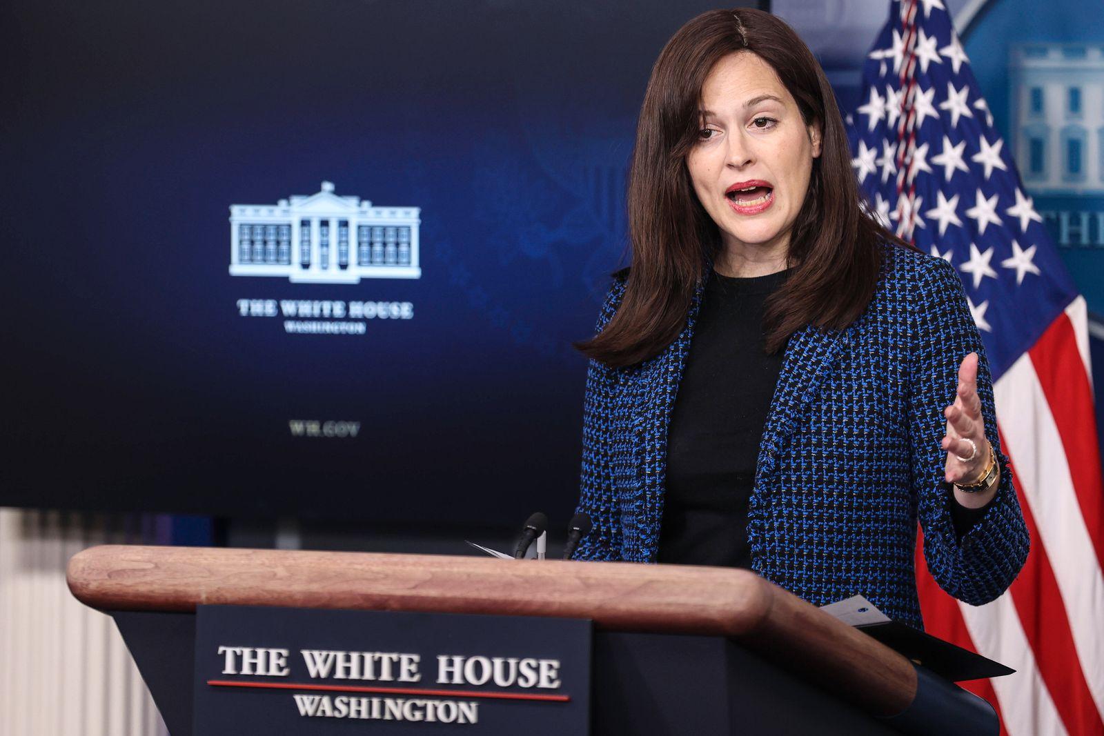 February 17, 2021, Washington, District of Columbia, USA: White House deputy national security adviser Anne Neuberger s