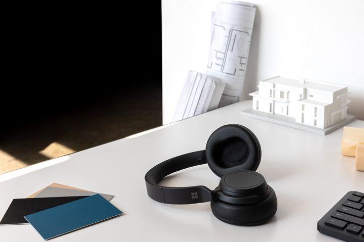 In den neuen Surface Headphones 2 steckt eine ungewöhnliche Mechanik