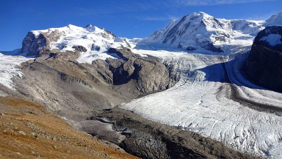 Gornergletscher in der Schweiz