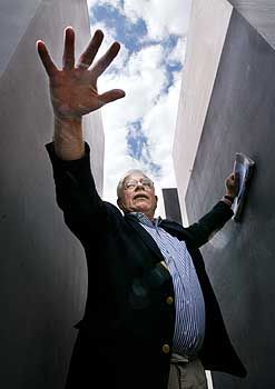 Peter Eisenman has spoken of trying to create an illusion of order.