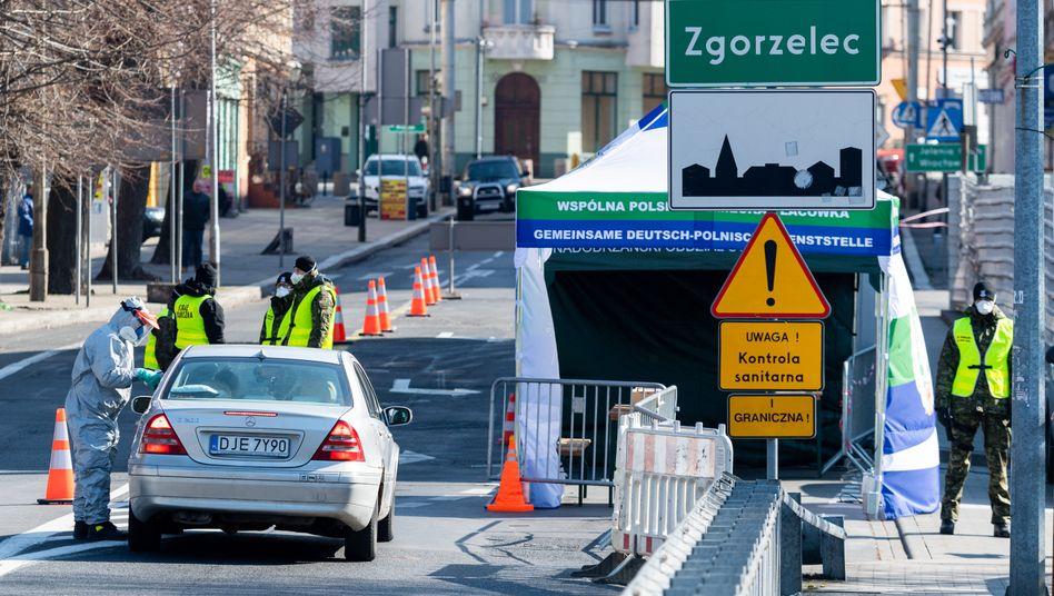 Görlitz: An der deutsch-polnischen Grenze wird wieder kontrolliert
