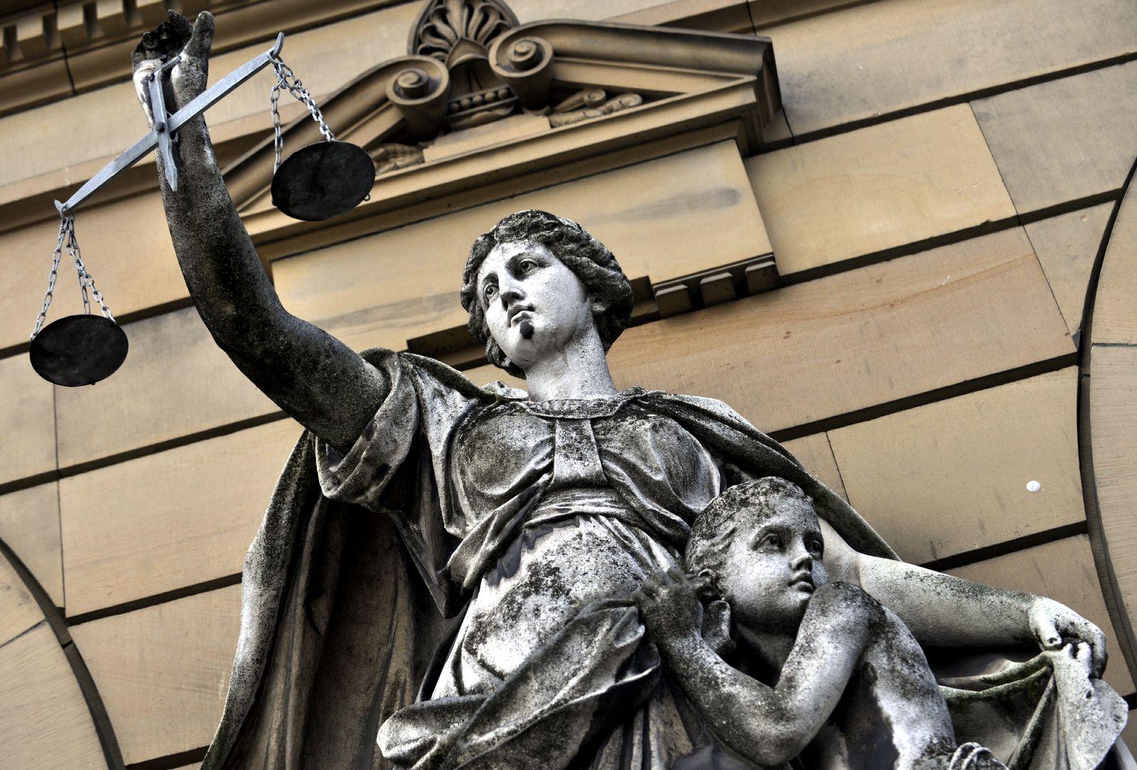 NICHT VERWENDEN Symbolbild Justiz / Recht / Gerechtigkeit