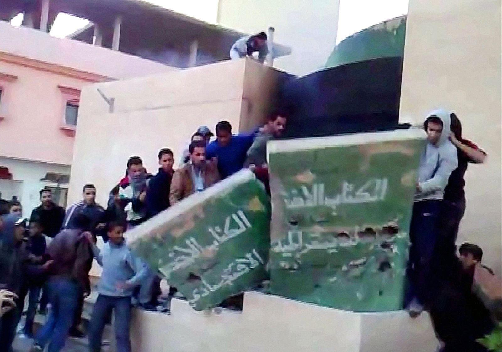 Proteste / Libyen