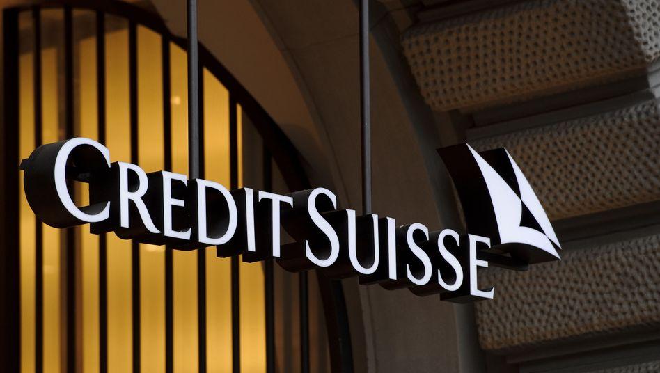 Credit-Suisse-Logo: Der Steuerskandal begann durch ein Missgeschick