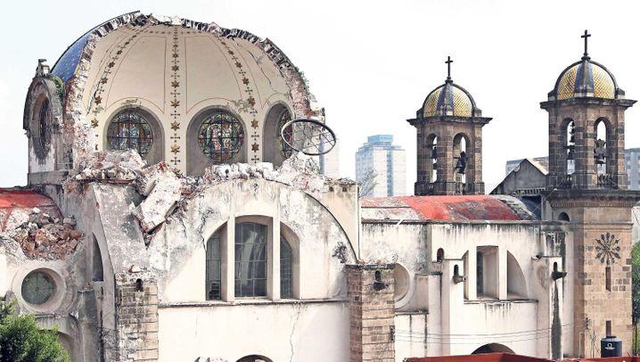 Erdbeben: Milliardenschäden in Mexiko