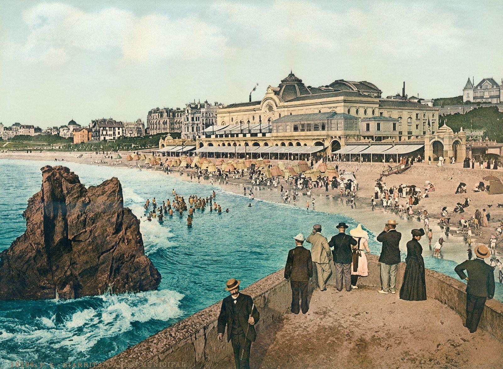 Biarritz - Badeort an der französischen Atlantikküste