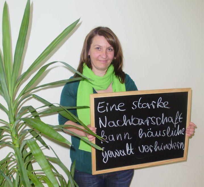 Stop-Aktivistin Ewgenia Falkenberg