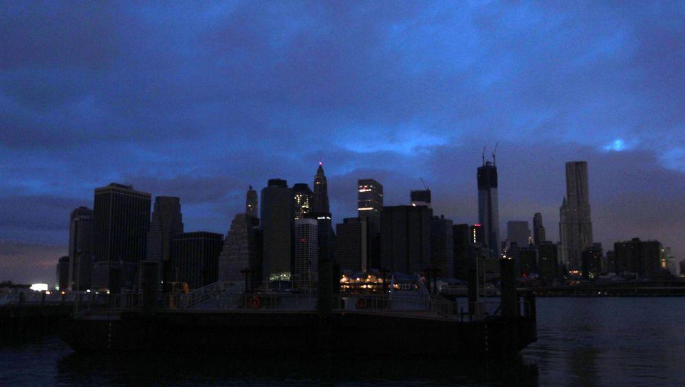 Lower Manhattan: Kein Strom, viel Wasser