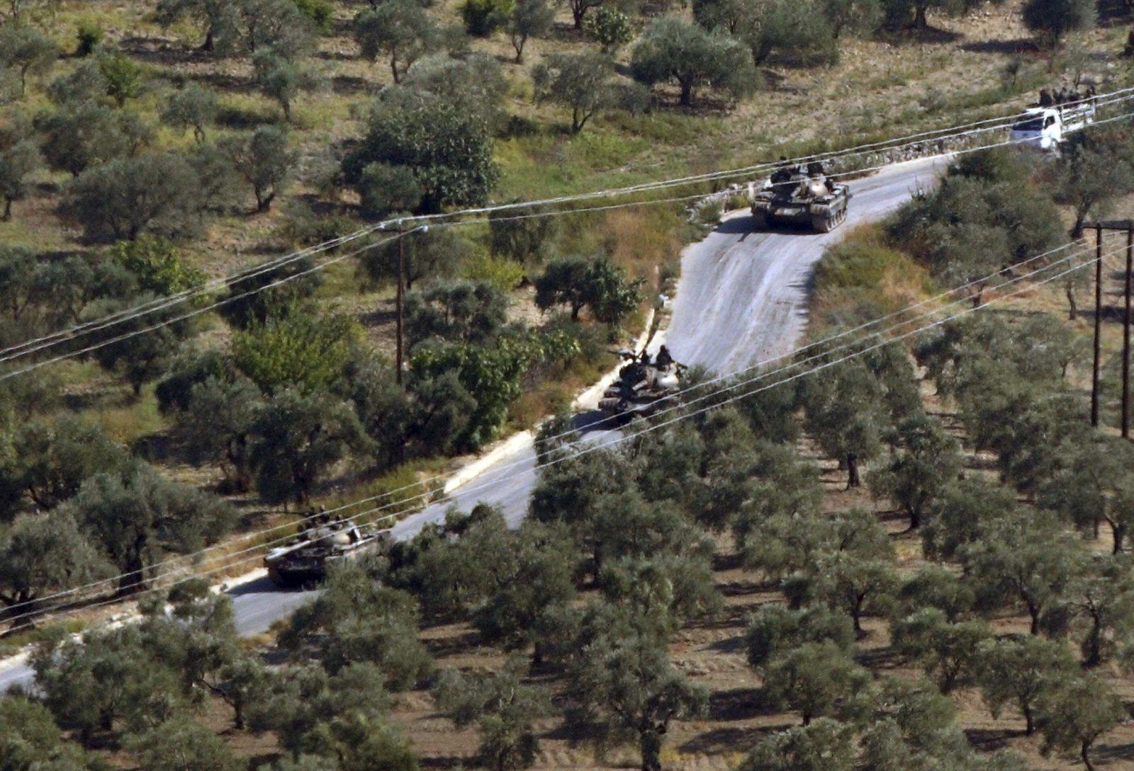 Syrien/ Türkei/ Grenze