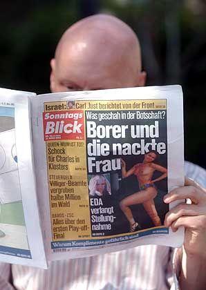 """""""SonntagsBlick"""": """"Enthüllungsberichte"""" auf Seite 1"""