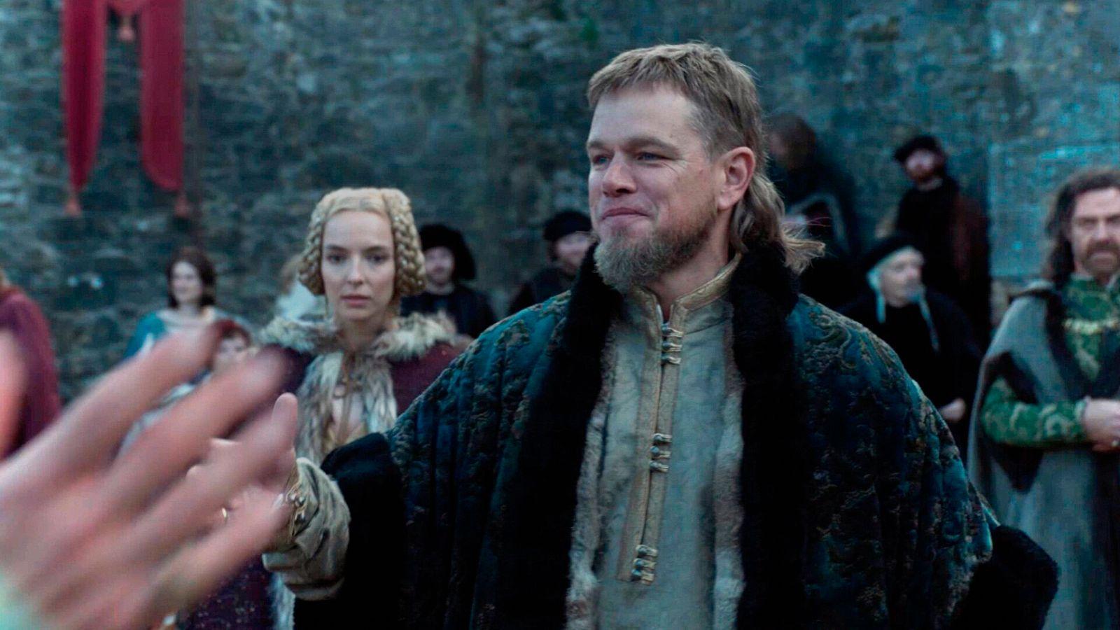 LE DERNIER DUEL THE LAST DUEL 2021 de Ridley Scott Jodie Comer Matt Damon. scenario de Ben Affleck, Matt Damon & Nicole