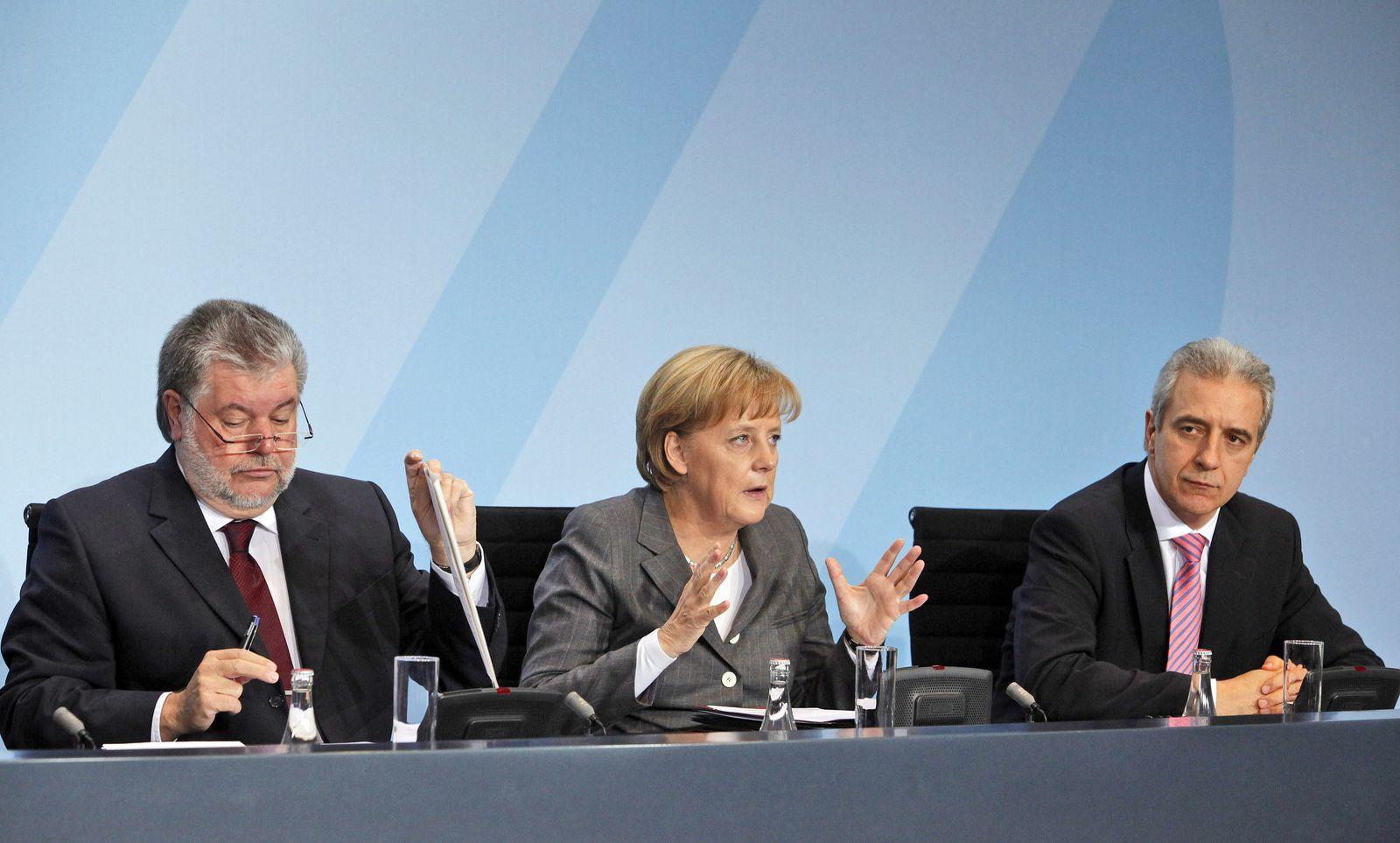 Merkel / Tillich