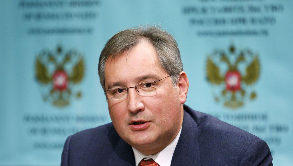 """Russlands Nato-Botschafter Rogosin: """"Wir lassen uns nicht für dumm verkaufen"""""""