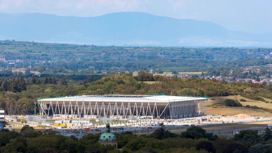 Das neue Freiburger Stadion